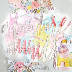 Adventure Awaits by @paigeevans using the Like Forever Kit August kit which is mostly @pinkpaislee Take Me Away! #scrapbooking