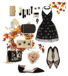 """Autumn birthday look"" by look-by-alina on Polyvore featuring мода, National Tree Company, Valentino, Diane Von Furstenberg, STELLA McCARTNEY, INC International Concepts, Christian Dior, Gucci, Giorgio Armani и Chanel"