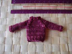 Knit Tiny Sweater Ornament
