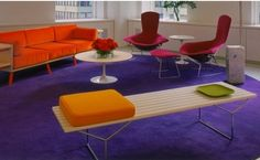 Modern. Furniture by Knoll.