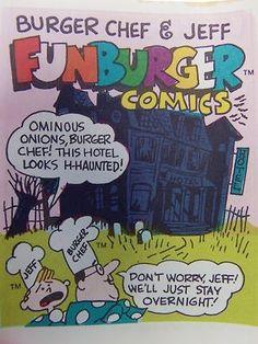 Funburger Comics from Burger Chef