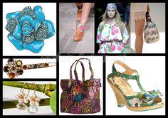 Trend Accessories: Floral Motifs & Prints - S/S 2012
