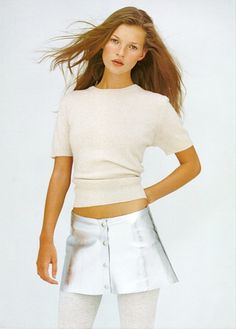 Le Fashion Blog. Editorial Kate Moss More Dash Than Cash. British Vogue UK Dec 1993