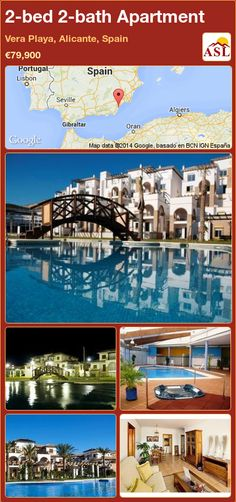 2-bed 2-bath Apartment in Vera Playa, Alicante, Spain ►€79,900 #PropertyForSaleInSpain