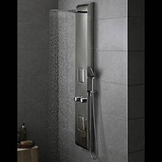 Spade ons populaire douchepaneel met een RVS afwerking!