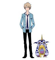 Digimon Adventure Tri matt y gabumon