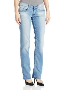 Black Friday Levi's Women's 524 Straight Jean, Barefoot Indigo, 26/3 Medium from Levi's Cyber Monday