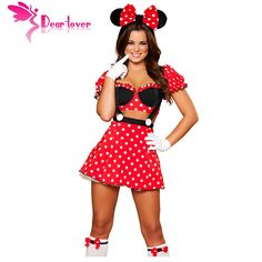 Dear Lover Cosplay Fantasy Mouse Costume cute LC8719 Adult Costume Outfit Exotic Apparel women fantasia halloween erotic dress