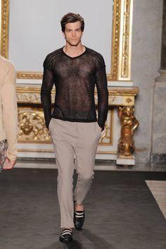 Valentino Men's Fashion Fall 2013: #costume #make