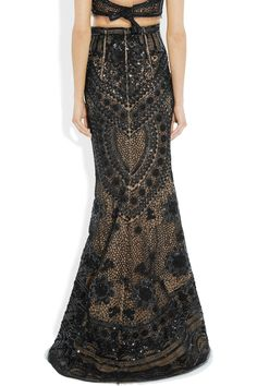Pucci Sequined tulle maxi skirt. Gorgeous!!!