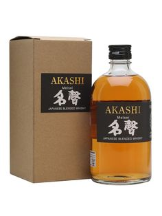 A blended whisky from the White Oak distillery under the Akashi label. Rarely seen outside of France this is very spicy with a whack of vanilla.