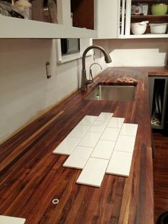 Dueling DIY: How to Prep Kitchen Walls for a Tile Backsplash - The Ugly Duckling House