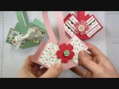 Spring Basket Box for Easter, Mother's Day or Tea Party - YouTube