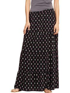 Women's Printed Maxi Skirts Product Image