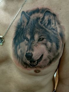 Tattoo picture inspiration: Amazing Wild Wolf Tattoos Ideas