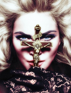 Madonna, for Interview Magazine (Photography by Mert & Marcus) | 2010