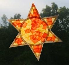 day and night crafts   ... Crafts for Kids*: Sun Window Catcher ...   Day and Night Pr