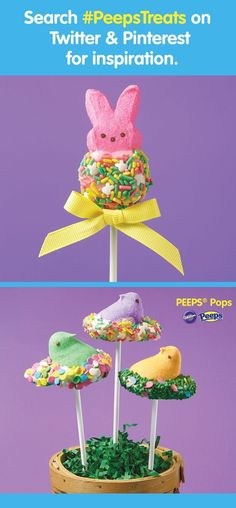 Peeps-ter Basket cake and other fun recipes with PEEPS candies