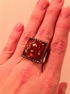 Ring Adjustable Copper Quirky Fun Statement by ConstantlyUnfolding, $12.50
