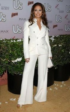 5b78a7829bd9a Invest in a white suit for Spring 2012. Always instyle and always  versatile. Seperate