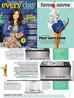 Whynter ICM 200LS Stainless Steel Ice Cream Maker Best Ice Cream Maker, Make Ice Cream, Vegan Ice Cream, Homemade Ice Cream, Sorbet Maker, Gelato Maker, Best Food Processor, Strawberry Crisp