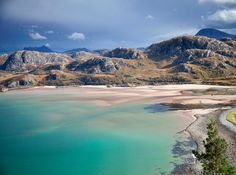 The beach near Gairloch. Photograph: Planet Pictures/Corbis
