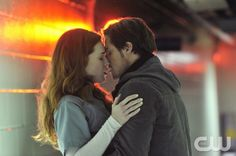 Beauty and the Beast --Seeing Red -- Pictured (L-R): Bridget Regan as Alex and Jay Ryan as Vincent -- Image Number: BB109a_0035.jpg -- Photo: Ben Mark Holzberg/The CW -- © 2012 The CW Network, LLC. All rights reserved.