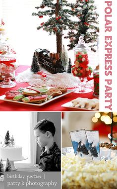 Polar Express party ideas and free BELIEVE printables
