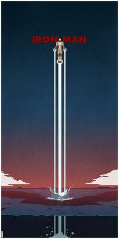 Les posters Marvel de Matt Ferguson | Le Journal Graphic