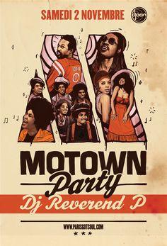 MOTOWN PARTY - 02 Novembre 2013