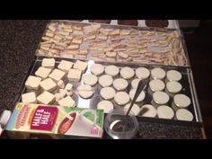 Half & Half Milk Rehydrated, Cooked Hamburger Patties Cheesecake Harvest Right Freeze Dryer Dried - YouTube