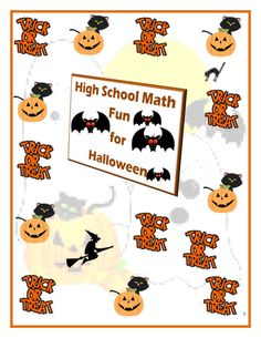 Give your students a full-length, all-comprehensive assessment to be used for SAT/ACT and/or College Readiness math prep for Halloween.