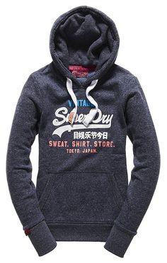 New Mens Superdry Factory Second Splatter Sweatshirt Eclipse Navy