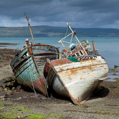 Salen boats (colour) | Flickr - Photo Sharing!