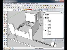 49 - 2. SketchUp - 스케치업 ISO 만들기 ① (벽체 세우기) - 2 유튜브채널-부지런한소  http://www.youtube.com/user/RenderCOW