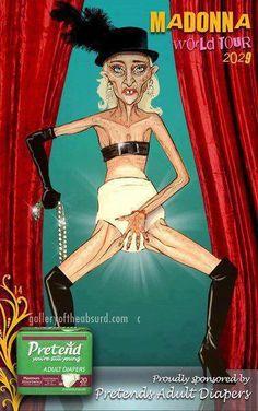 Madonna world tour poster :)