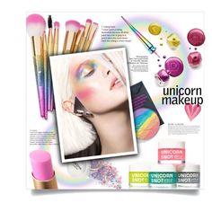 """#759 - Unicorn Makeup"" by lilmissmegan ❤ liked on Polyvore featuring beauty, KAROLINA, Devinah Cosmetics, Too Faced Cosmetics, Christian Louboutin, BeautyTrend, Beauty, unicorn and unicornmakeup"