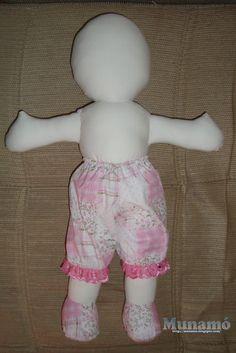 Munamó: Passo a passo de uma boneca de pano