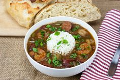 Shrimp and Sausage Gumbo - Don't Sweat the Recipe (IMM #108)