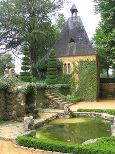 Jardin du manoir d'Eyrignac- Dordogne