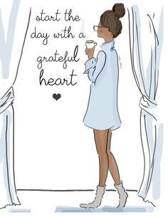 Comienza el día con un corazón agradecido☺️ ~ Rose Hill Designs by Heather A Stillufsen