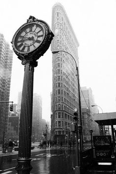The famous flatiron building in NYC.