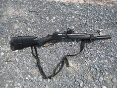 The Marlin or any lever gun, is a great choice for a bug out kit, factory stock. With a few upgrades, you have quite a rifle. Weapons Guns, Guns And Ammo, Camping Survival, Outdoor Survival, Survival Rifle, Survival Gear, Scout Rifle, Lever Action Rifles, Remington 700