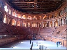 """Teatro Farnese - """"O que fazer em Parma e arredores"""" by @360meridianos"""