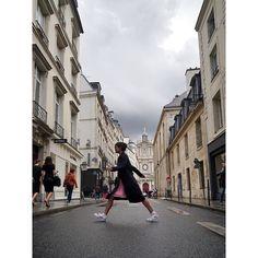 Paris throwbacks w/ @kimkying #lctravels