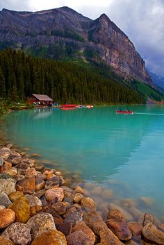 Peaceful Lake Louise ~ Banff National Park, Canada