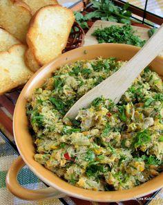 Smaczna Pyza: Pasta z makreli z marchewką i zieleniną