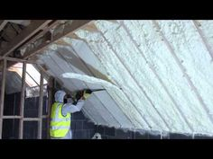 Wall ceiling spray foam insulation will save you up to 50 on your spray foam of attic using fusion sprayfoam insulation being cut flush fusioninsulation solutioingenieria Choice Image