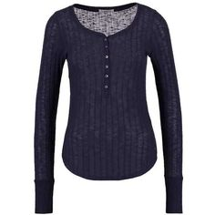 Abercrombie Fitch COZY ❤ liked on Polyvore featuring intimates, hosiery, socks, navy socks and navy blue socks