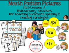The Mouth Position Pictures have just been uploaded to my store!! Check them out today!  I am so excited about this product b/c I know it will make a BIG difference for struggling students & provide teachers the opportunity to lay a solid, successful foundation in spelling & reading for their students. <3  https://www.teacherspayteachers.com/Product/Mouth-Position-Pictures-Multisensory-Spelling-Reading-Strategies-2987880